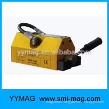 Rare earth permanent magnet lifting