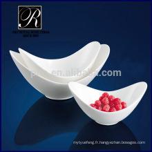 Usine de porcelaine PT chaozhou, saladier en céramique, nouvelle forme de bols profond