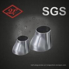 Sanitary Stainless Steel Pipe Fitting Soldagem Excentricidade Redutor