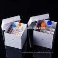Caja de congelación de tubo de centrífuga de papel de 50 ml