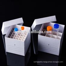 50ml paper centrifuge tube box freezer box