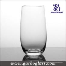Gobelet à verre soufflé à machine à bille haute (GB083017)