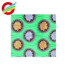Haute qualité super doux 100% polyester gros velboa africain cire impression tissu