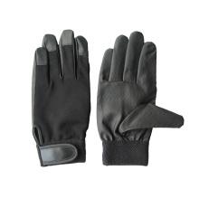 PU ладони спандекс назад механик перчатки-7401