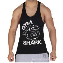 Gewohnheit Workout Tank Top Gym Herren Leder