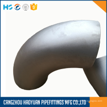 Codo de acero inoxidable ASTM A403 ASME B16.9 316L