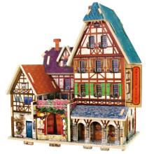 Juguetes de colección de madera para el hotel Global Houses-France