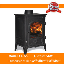 5kw Small Cast Iron Wood Stove