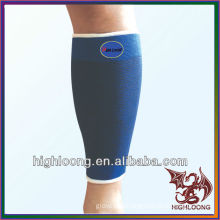 Durable Wholesale Physiotherapy Blue Nylon L Size Adjustable Shin Sleeve Support