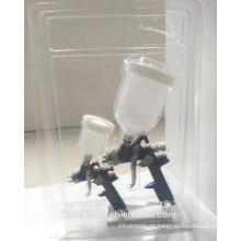 2pcs HVLP Spritzpistole Kit mit Luftregler 2PCS-1