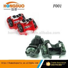 мигающий роликовых коньков/проблескивая колеса шоссе/свет-вверх роликовые коньки