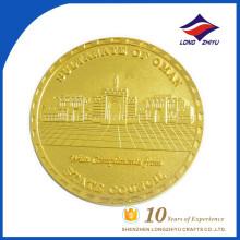 Kundenspezifische billige Preis gefälschte Goldmünzen Sultanat von Oman Münzen