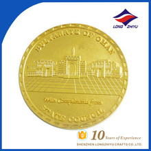 Custom Made Cheap Price Fake Gold Coins Sultanate of Oman coins