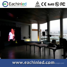 2014 nuevas invenciones de alta definición P3.9,4.8 pantalla LED para eventos hoteleros