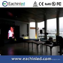 2014 nouvelles inventions haute définition P3.9,4.8 pantalla LED pour les événements de l'hôtel