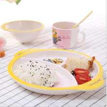 (BC-MK1016) Fashinable Design réutilisable Melamine 4PCS Kids Cute Dinner Set