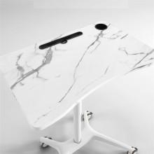 Mesita de noche móvil mesa de ordenador portátil mesa de ordenador de madera