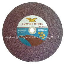 Disco de corte de rueda de corte de alto perfil para metal