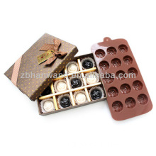 Silicone Rubber Chocolate Mould Cake Mould Flower Moulds for Cake Silicone Mould Tray B0138