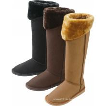 2014 Mode zwei Weg tragen Frauen Stiefel lange Schneestiefel