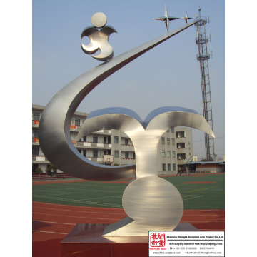 Gorgeous Art Stainless Steel Sculpture
