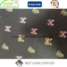 El estampado de patrón de mariposa forro para hombres o ropa de mujer