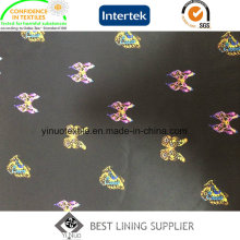 The Butterfly Pattern Print Lining for Men or Women′s Garment