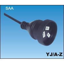 Australian SAA Power Cords with Socket
