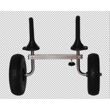 Steel frame kayak trolley kayak cart
