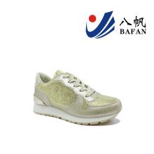 2016 nouvelles chaussures de toile pour femmes (BFJ-4199)