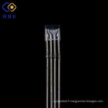 De Bonne Qualité RGB LED polychrome 4-jambes DIP LED eau claire cathode commune