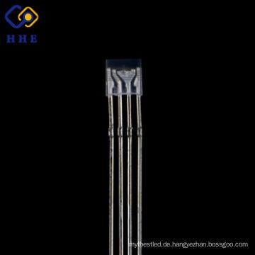 Gute Qualität RGB LED Vollfarb-4-Beine DIP LED Wasser klar Gemeinsame Kathode