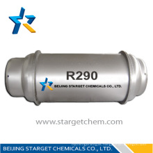 high purity refrigerant gas propane r290 for air conditioning
