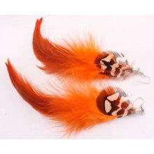 Мода Ювелирные изделия Оптовые Длинные серьги перо FEA01