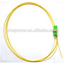 SC apc Fiber Optic pigtail, SC sm optical pigtail