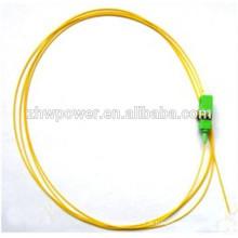 SC apc Fibra óptica pigtail, SC sm pigtail óptico