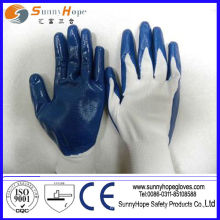 Safety gloves nitrile coated glove