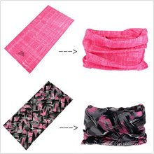 Best selling personalized fishing sun protection elastic seamless custom printed logo tube bandana