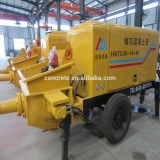 good condition concrete pumpcrete trailable Using the piston pump along the tube continuous conveying of concrete machinery