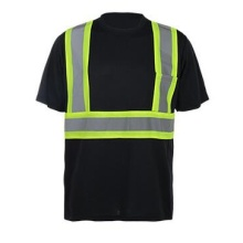 Reflective Polyester Sports T Shirt Atacado