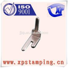 Pièces de relais personnalisées, broche de contact d'estampage de métal