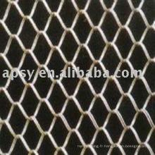 clôture de lien de chaîne enduite de PVC