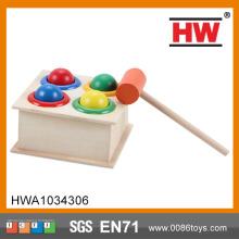 Υψηλής ποιότητας νοημοσύνη σφυρί ξύλινα παιδί παιχνιδιών