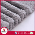 anti-pilling 100% polyesters solid bright color coral fleece blanket throw