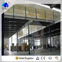Qualidade da estrutura de aço do fornecedor da cremalheira de Jracking que flutua o assoalho da plataforma do mezanino