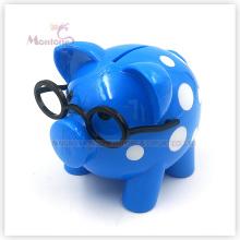 Caja de ahorro de dinero de plástico para monedas