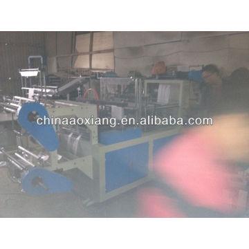 Computer control rolling T-shirt & flat bag making machine brown kraft paper bag making machine