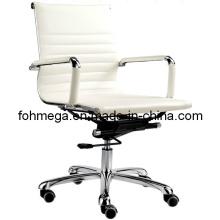 Silla giratoria de la oficina de la silla blanca de Eamse del respaldo (FOH-MF11-B09)