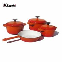 Amazon caliente hierro fundido cookware para la venta