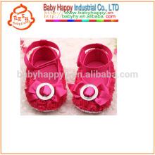Kinder-Fantasie-Partei-Mädchen-rote Baby-Kleid-Schuhe MOQ300
